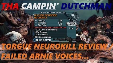 Borderlands Torgue Neurokill review failed Arnie voices... (Let's play 48)