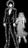 Kazuya and Satellizer Dress Up Render