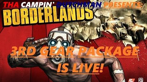 Borderlands Custom made gear, 3rd weapon pack is live!