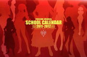 FreezingOriginalSchoolCalendar-2011-2012-ThePandoraGirlsCollection-cover