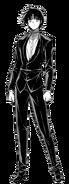 Kazuya Dress Up Render