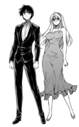 Kazuya and Satellizer Dress Up Render 2