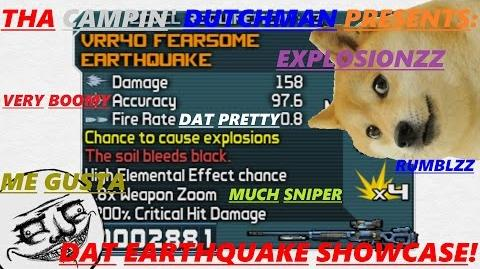 Borderlands Dat Earthquake showcase! (Let's play 6)