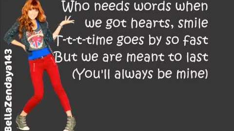 Bella Thorne - TTYLXOX Lyrics (Full Song)
