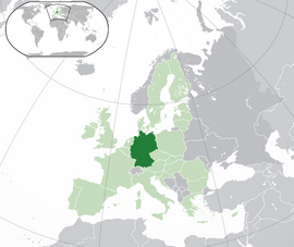 Karte af Tudischland