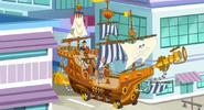 Fresh Beat Band of Spies Captain Arrrrgh's Ship