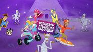 Fresh Beat Band of Spies Mummy Museum Mayhem Game Promo Image