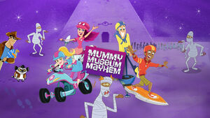 Fresh Beat Band of Spies Mummy Museum Mayhem Game Promo Image