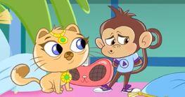 Kitty Boo-Boo and Bo Monkey