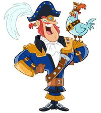 Nickelodeon Fresh Beat Band of Spies Captain Arrrgh Main
