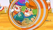 FBBOS Twist and Bo Monkey Clowns