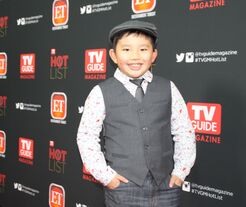 Albert Tsai on the Red Carpet of 2013 TV Guide Hot List Party 110413