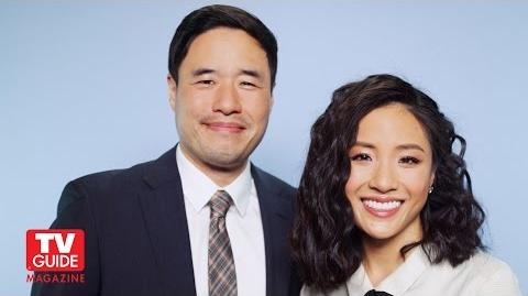 Fresh Off the Boat! Randall Park and Constance Wu talk about the new show!