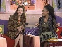 Gina and Jessica sitting