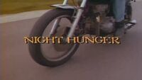 Night Hunger title card