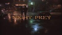 Night Prey title card