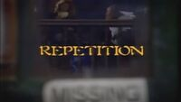 Repetition title card