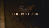 The Butcher title card