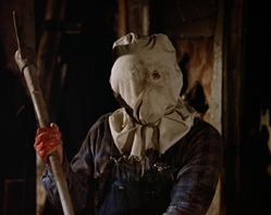 Part 2 sack-head jason - 1981 Friday the 13th Part 2