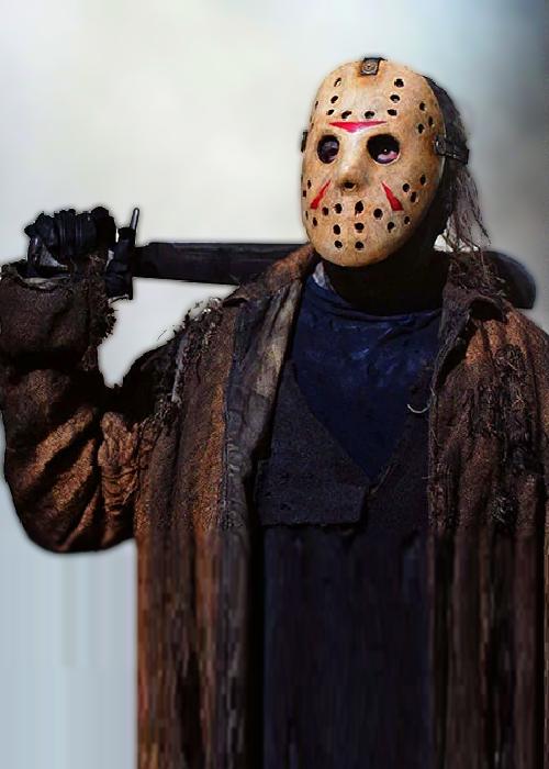 Replica Freddy Vs Jason Jason masque de hockey Jason Voorhees Masque de Hockey 2003