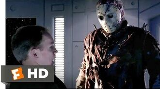 Jason X (2001) - He Just Wants His Machete Scene (6 10) Movieclips