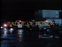 Badge of Honor title card