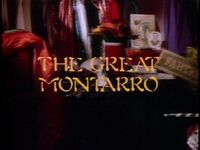 The Great Montarro title card