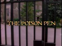 The Poison Pen title card