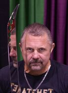 Kane Hodder at ScareFest 2014 - 1