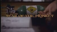 Year of the Monkey title card