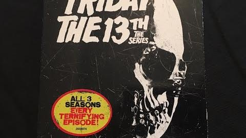 Friday The 13th The Series The Complete Series DVD Unboxing