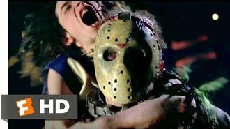 Jason X (2001) - Jason Plays Deathmatch Scene (4 10) Movieclips