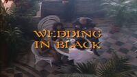 Wedding in Black title card