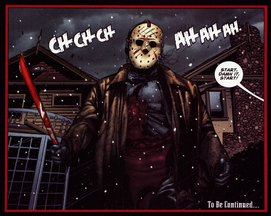 Jason Voorhees - comic - Freddy vs. Jason vs. Ash - 2007 comic issue 2
