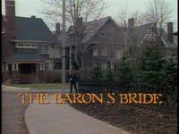 The Baron's Bride title card