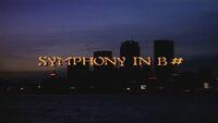 Symphony in B-Sharp title card