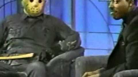 Kane Hodder As Jason On Arsenio Hall- July 1989
