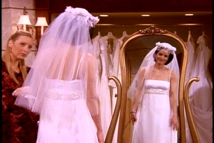 The One With All The Wedding Dresses Friends Central Fandom