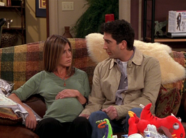 Ross and Rachel pregnant