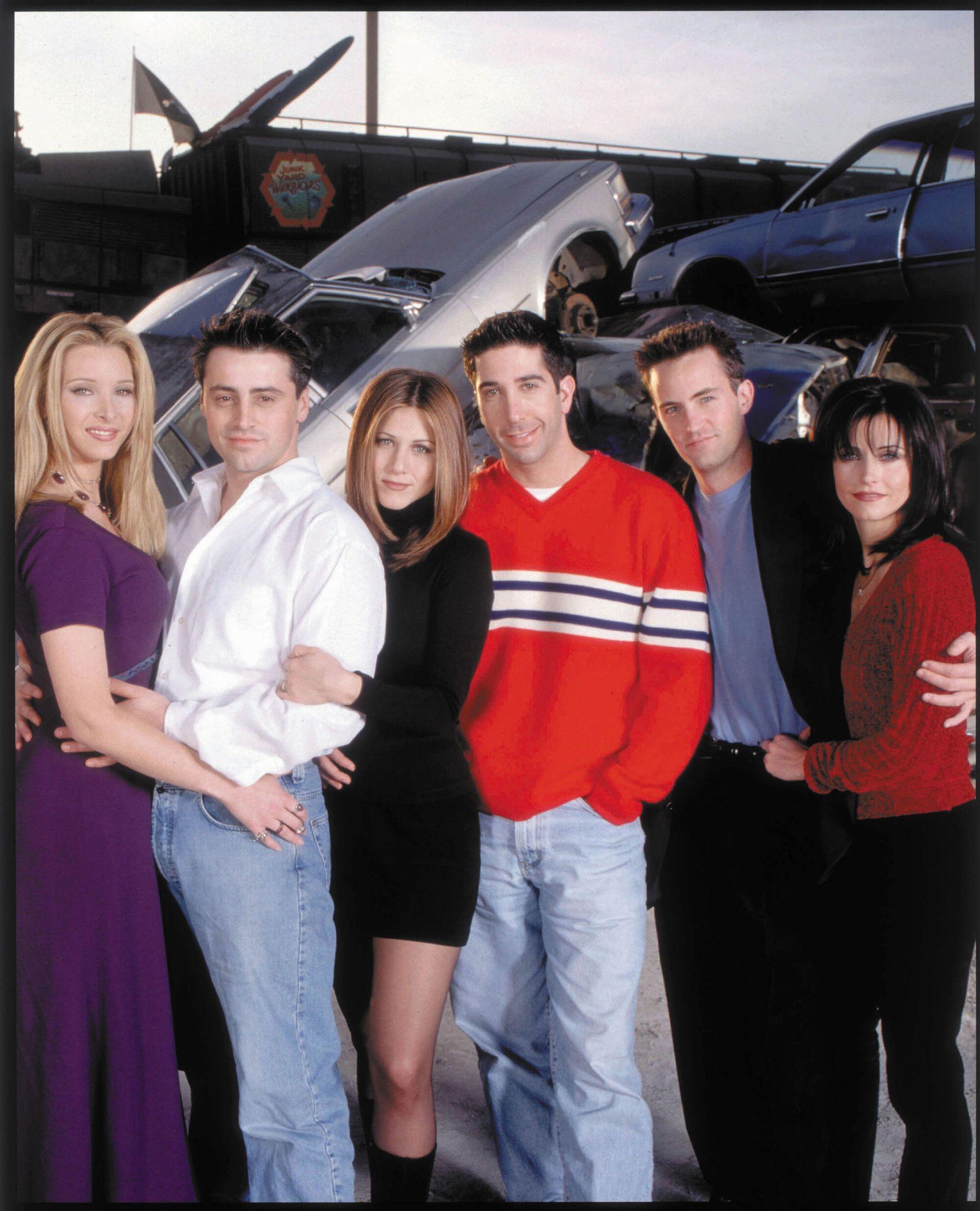 Friends season 8 episode 20 cast