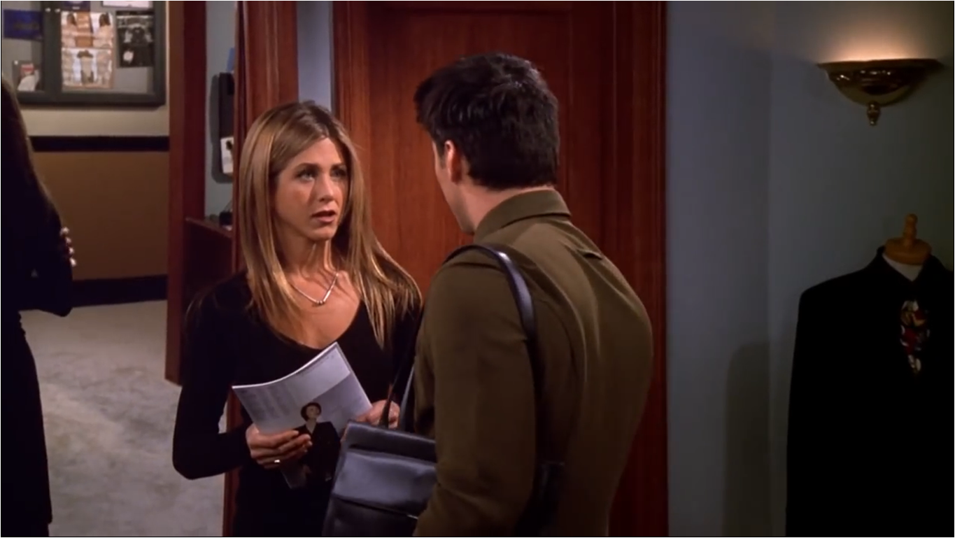 Andrea Anders Sex Scene the one with joey's bag | friends central | fandom