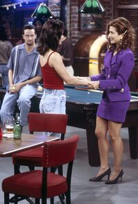 Monica and Rachel Flashback