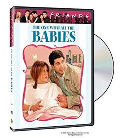 Friends - The One with All the Babies DVD