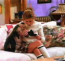 Friends-Rachel & Marcel pet monkey of Rosss