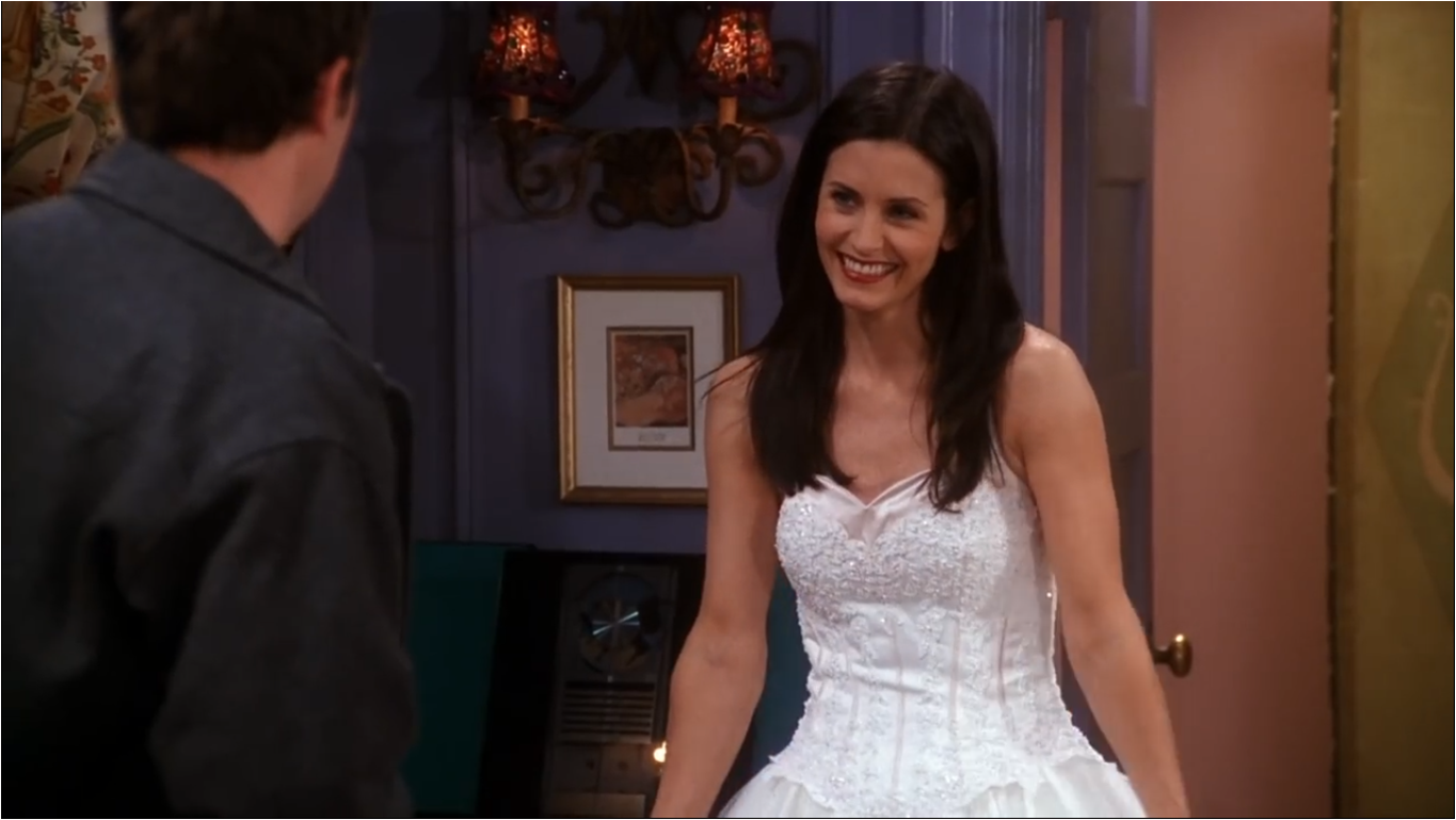 The One With The Cheap Wedding Dress | Friends Central | FANDOM ...