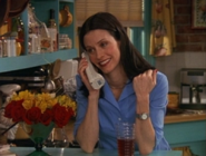 Monica on the Phone