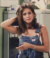 Rachel in overalls 2