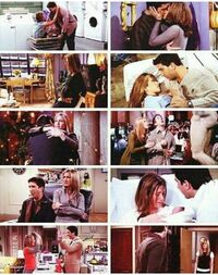 Ross and Rachel Collage