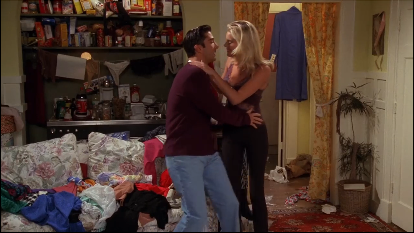 the one with the dirty girl | friends central | fandom poweredwikia