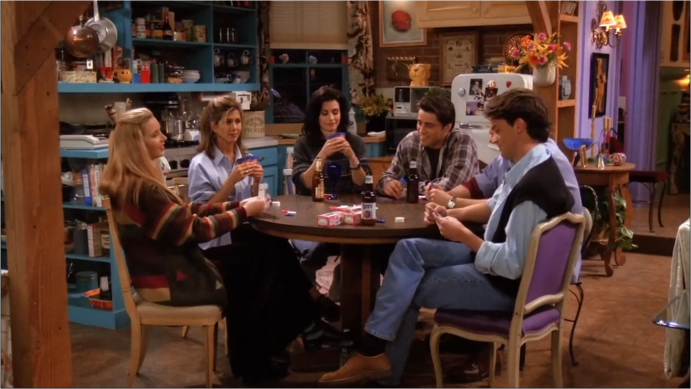 The One With All The Poker | Friends Central | FANDOM